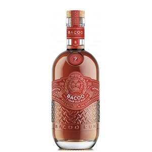 Rum Bacoo 7y.rep.domenic. 40% 70cl